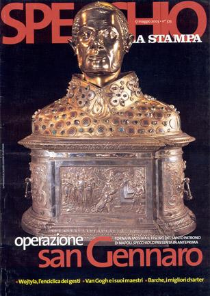 """""""Operazione San Gennaro"""", Specchio - La Stampa (17.05.2003)."""